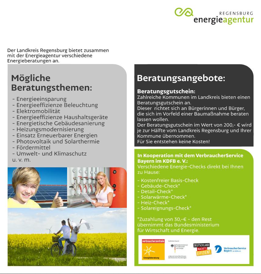 Energieberatung im Markt Beratzhausen